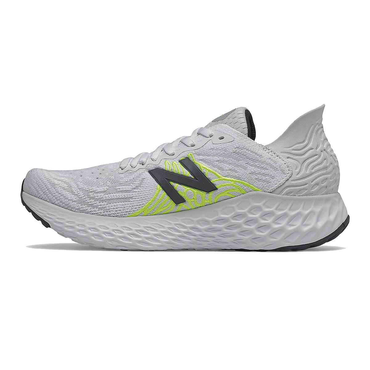 Women's New Balance Fresh Foam 1080v10 Running Shoe - Color: Light Aluminum - Size: 5.5 - Width: Extra Wide, Light Aluminum, large, image 2