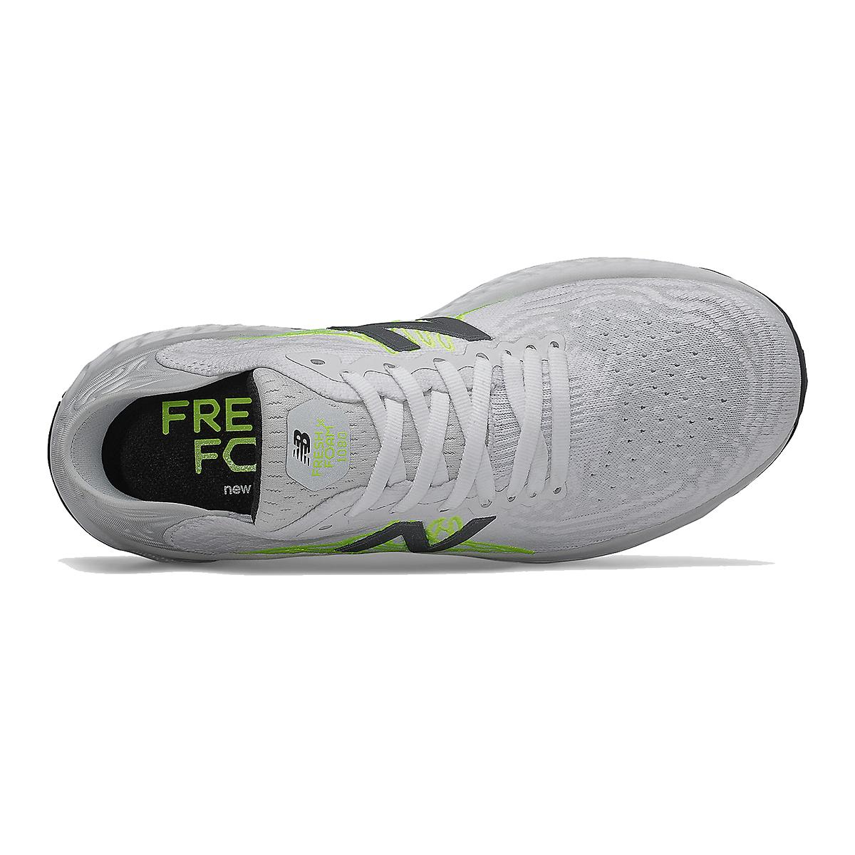 Women's New Balance Fresh Foam 1080v10 Running Shoe - Color: Light Aluminum - Size: 5.5 - Width: Extra Wide, Light Aluminum, large, image 4