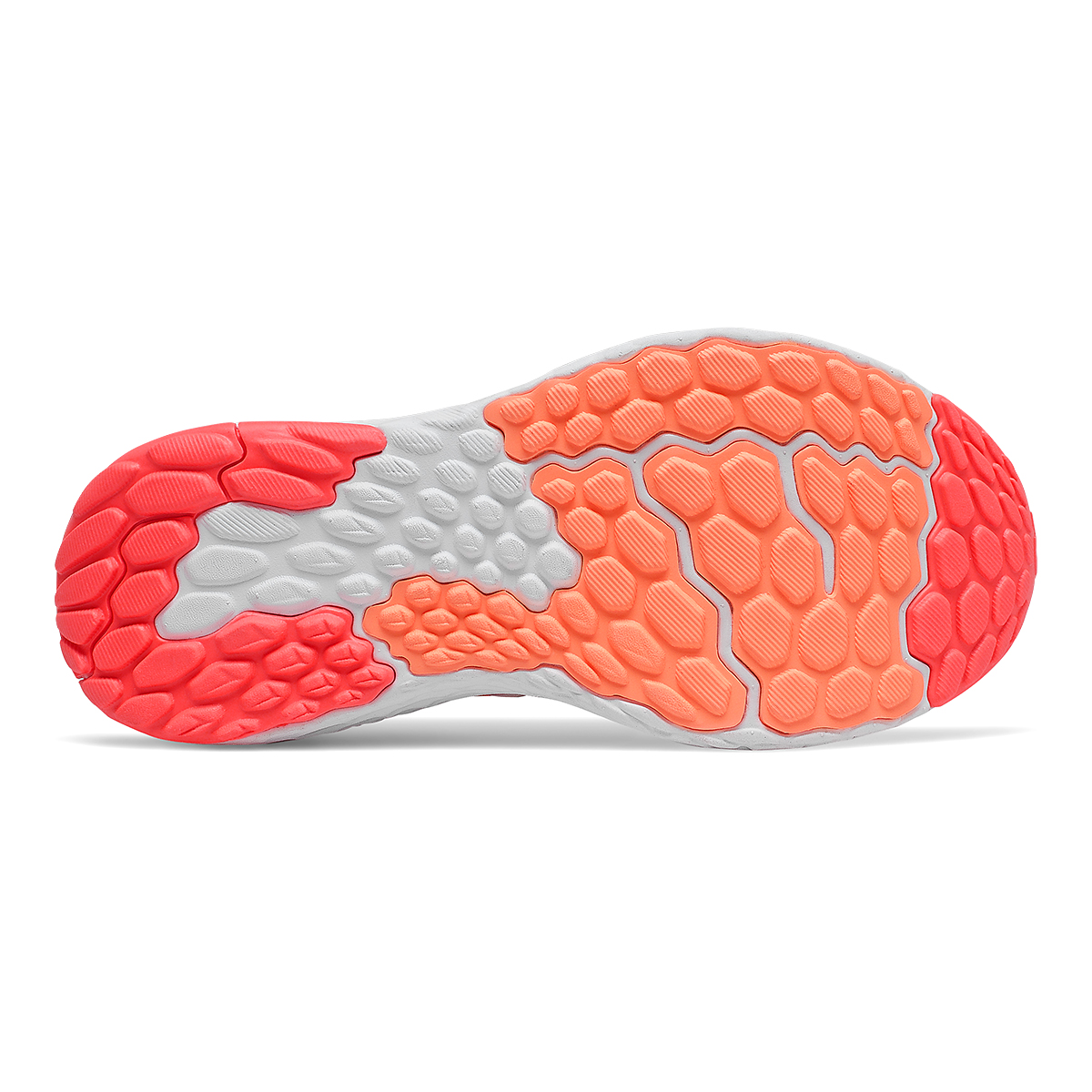 Women's New Balance 1080v11 Running Shoe - Color: Citrus Punch/Vivid Coral - Size: 5 - Width: Narrow, Citrus Punch/Vivid Coral, large, image 3