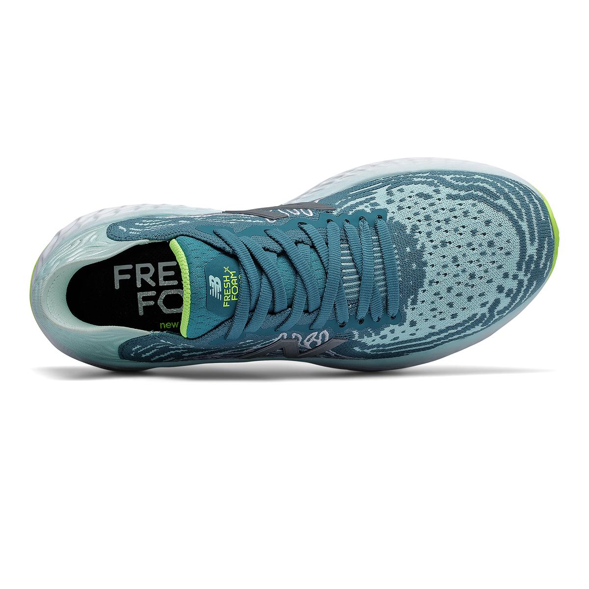 Women's New Balance Fresh Foam 1080v10 Running Shoe - Color: Jet Stream/Glacier - Size: 5 - Width: Regular, Jet Stream/Glacier, large, image 3