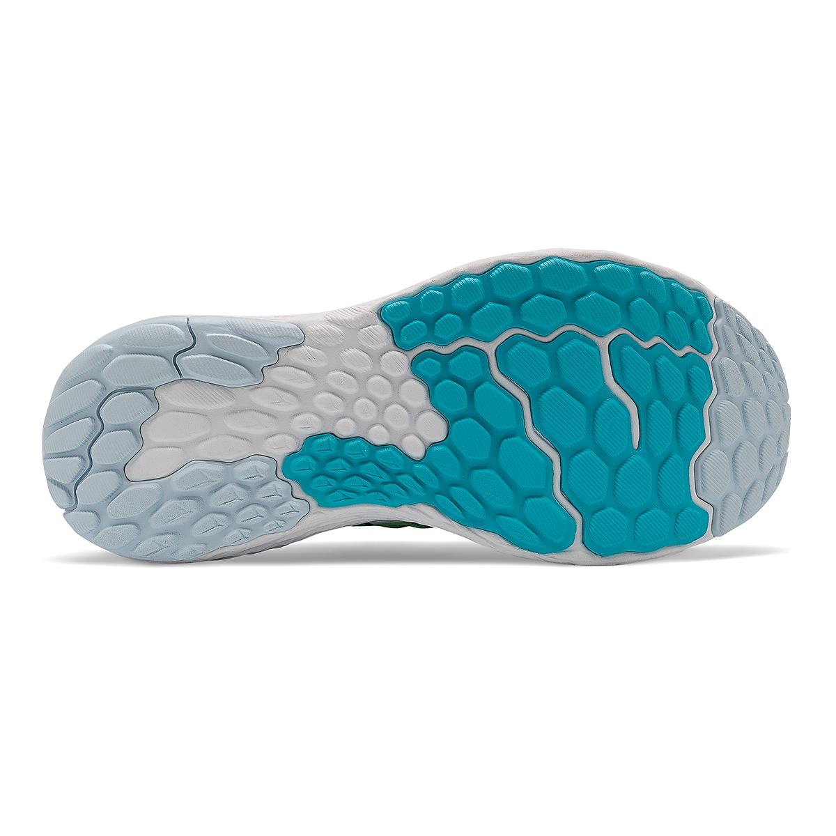 Women's New Balance Fresh Foam 1080v11 Running Shoe - Color: Virtual Sky/Bleached Lime Glo - Size: 5 - Width: Narrow, Virtual Sky/Bleached Lime Glo, large, image 5