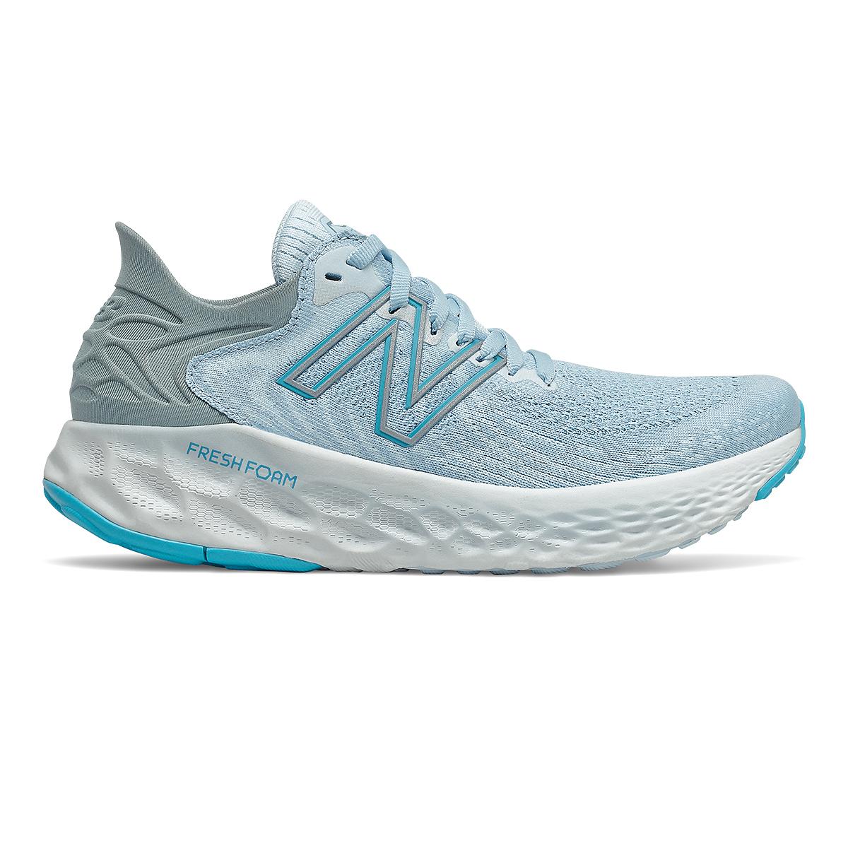 Women's New Balance 1080v11 Running Shoe - Color: Uv Glo/Star Glo - Size: 5 - Width: Extra Wide, Uv Glo/Star Glo, large, image 1
