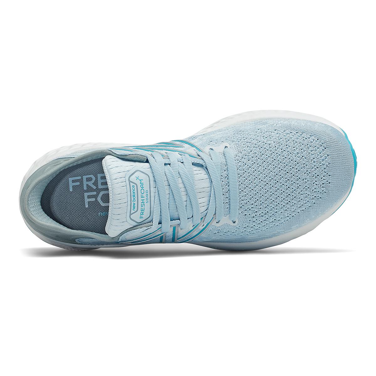 Women's New Balance 1080v11 Running Shoe - Color: Uv Glo/Star Glo - Size: 5 - Width: Extra Wide, Uv Glo/Star Glo, large, image 4