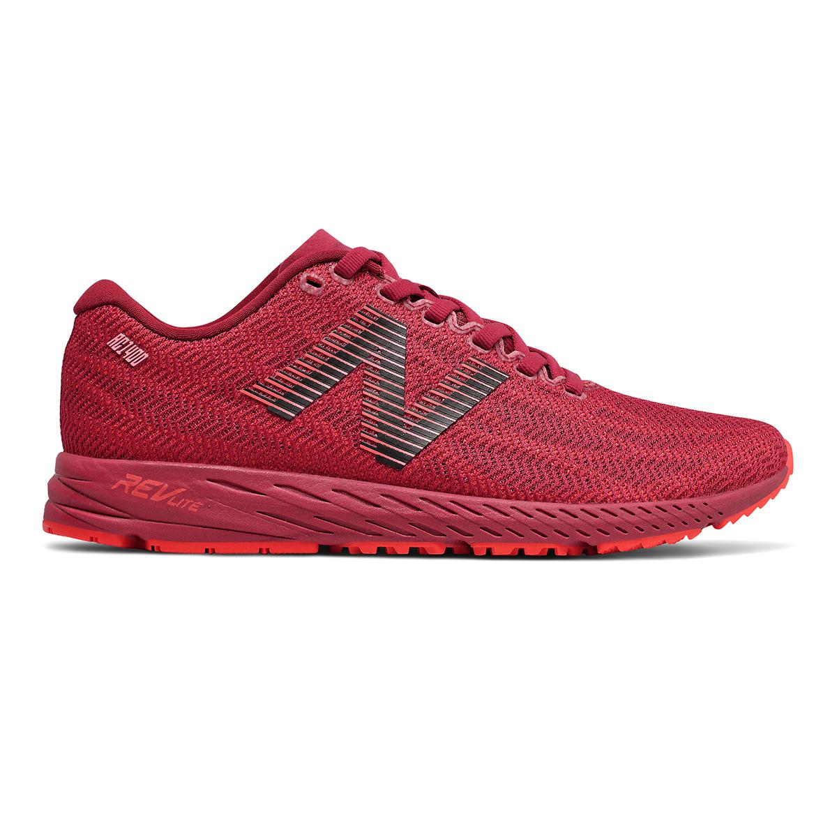 Women's New Balance 1400V6 Running Shoe - Color: Neo Crimson - Size: 5 - Width: Regular, Neo Crimson, large, image 1