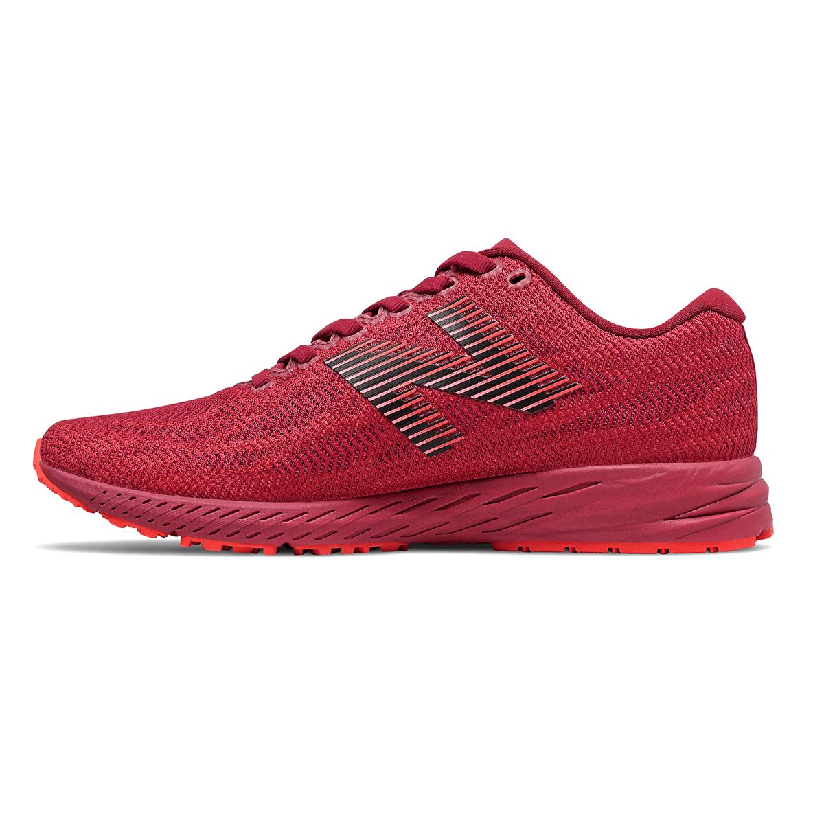 Women's New Balance 1400V6 Running Shoe - Color: Neo Crimson - Size: 5 - Width: Regular, Neo Crimson, large, image 4
