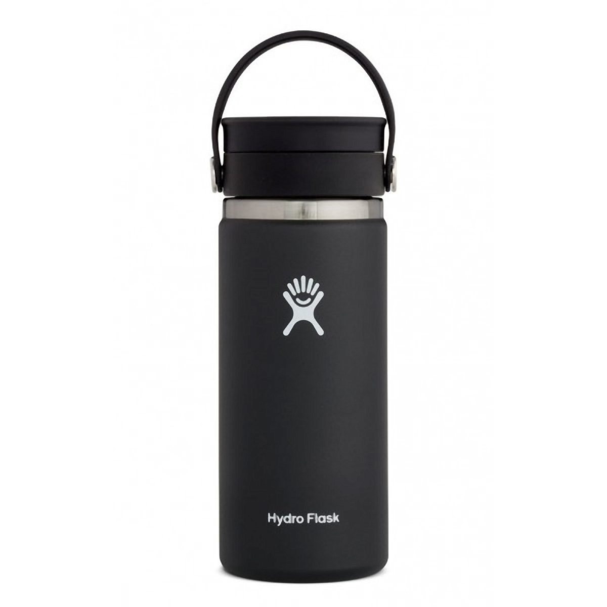 Hydro Flask 16 oz Coffee with Flex Sip Lid - Color: Black Size: One Size, Black, large, image 1