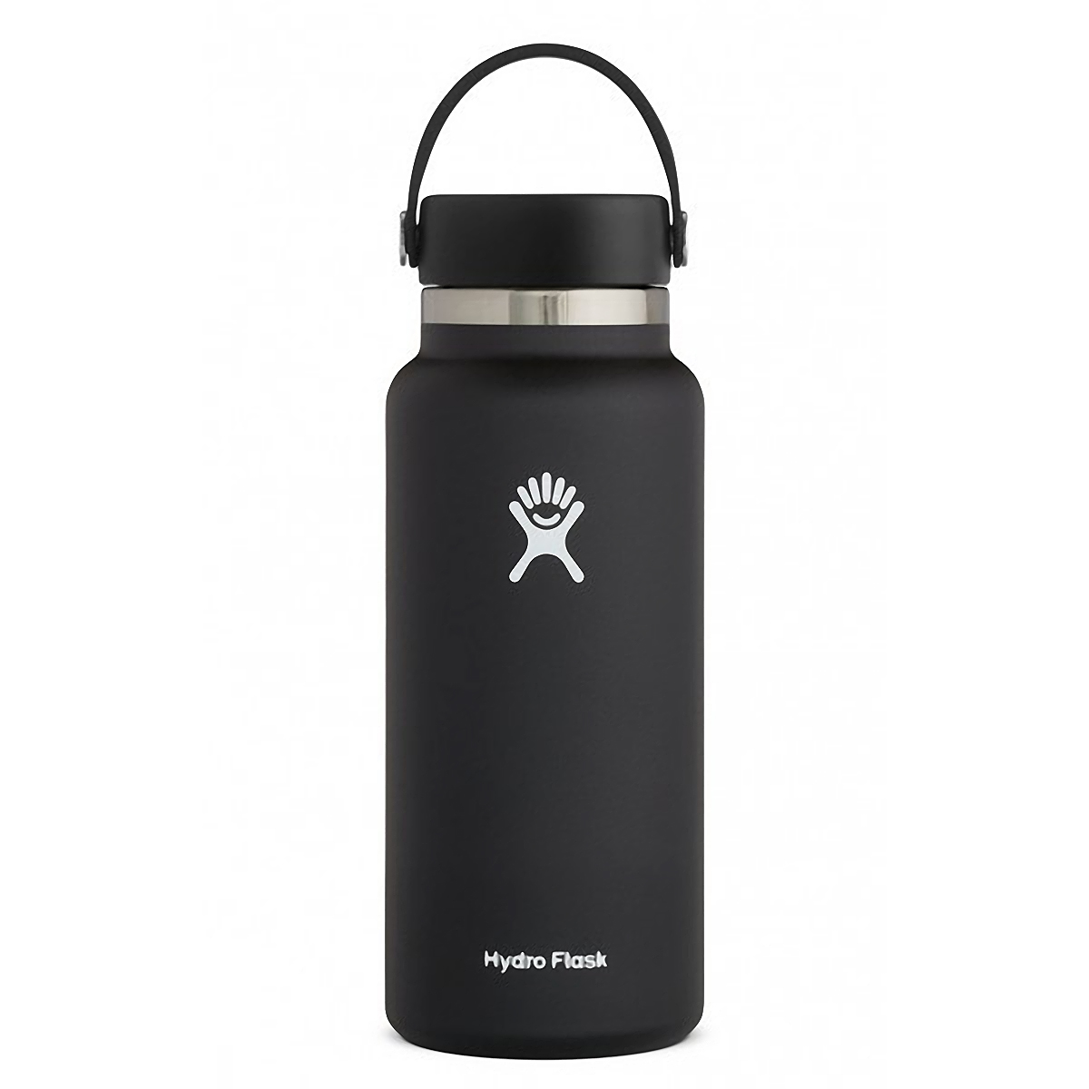 Hydro Flask 32 oz Wide Mouth Bottle - Color: Black Size: One Size, Black, large, image 1