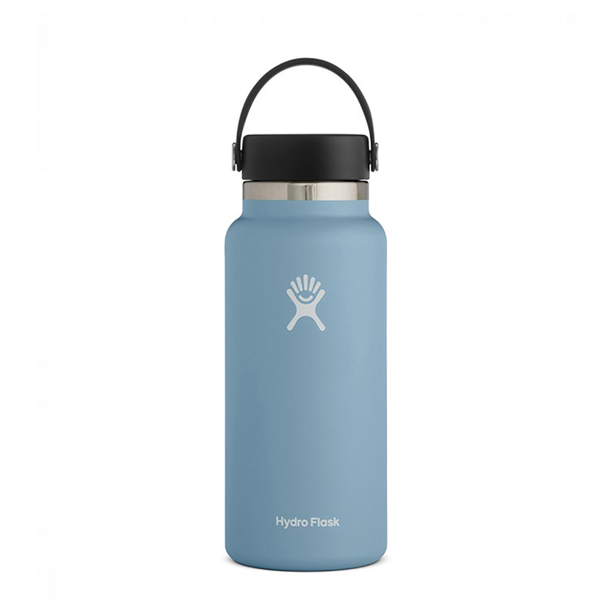 Hydro Flask 32 oz Wide Mouth Water Bottle - Color: Rain, Rain, large, image 1