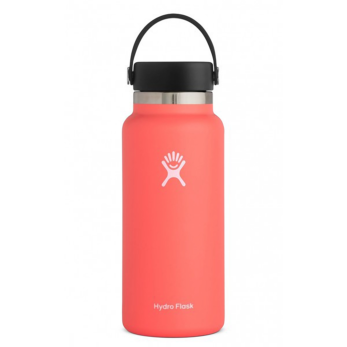 Hydro Flask 32 oz Wide Mouth Bottle - Color: Hibiscus Size: One Size, Orange, large, image 1