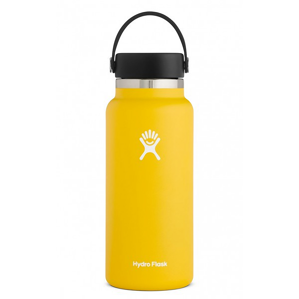 Hydro Flask 32 oz Wide Mouth Bottle - Color: Sunflower Size: One Size, Yellow, large, image 1