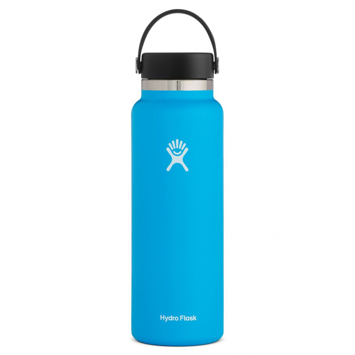 Hydro Flask 40 oz Wide Mouth Bottle - Color: Pacific - Size: 40OZ, Pacific, large, image 1