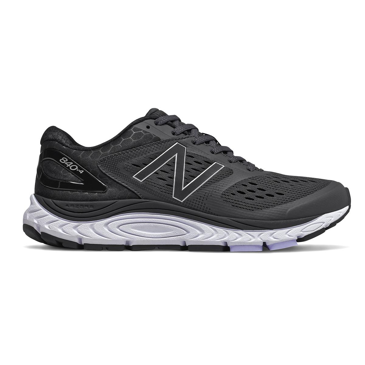 Women's New Balance 840V4 Walking Shoe - Color: Black - Size: 5 - Width: Narrow, Black, large, image 1