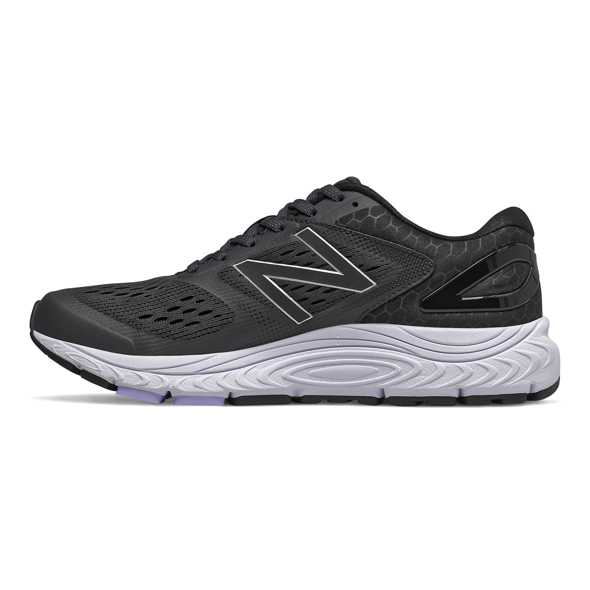 Women's New Balance 840V4 Walking Shoe - Color: Black - Size: 5 - Width: Narrow, Black, large, image 2