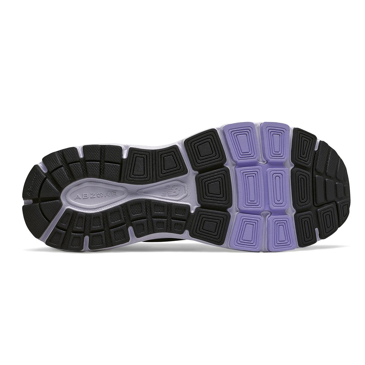 Women's New Balance 840V4 Walking Shoe - Color: Black - Size: 5 - Width: Narrow, Black, large, image 4