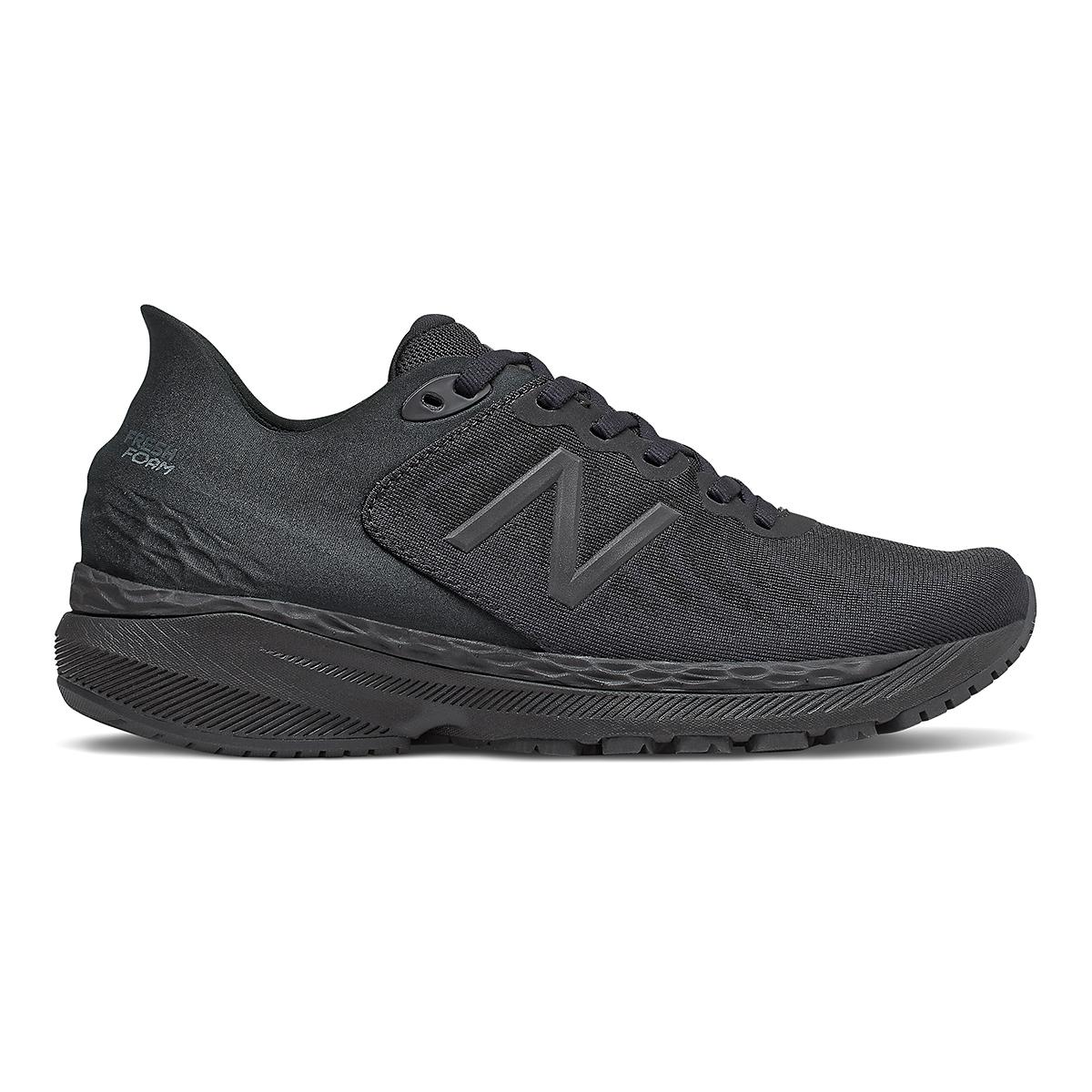 Women's New Balance 860V11 Running Shoe - Color: Black - Size: 6.5 - Width: Regular, Black, large, image 1