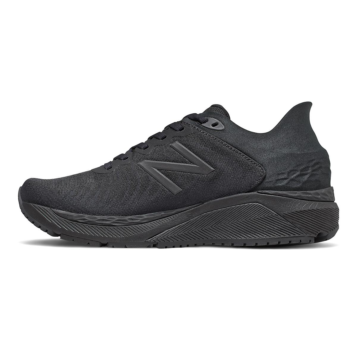 Women's New Balance 860V11 Running Shoe - Color: Black - Size: 6.5 - Width: Regular, Black, large, image 2