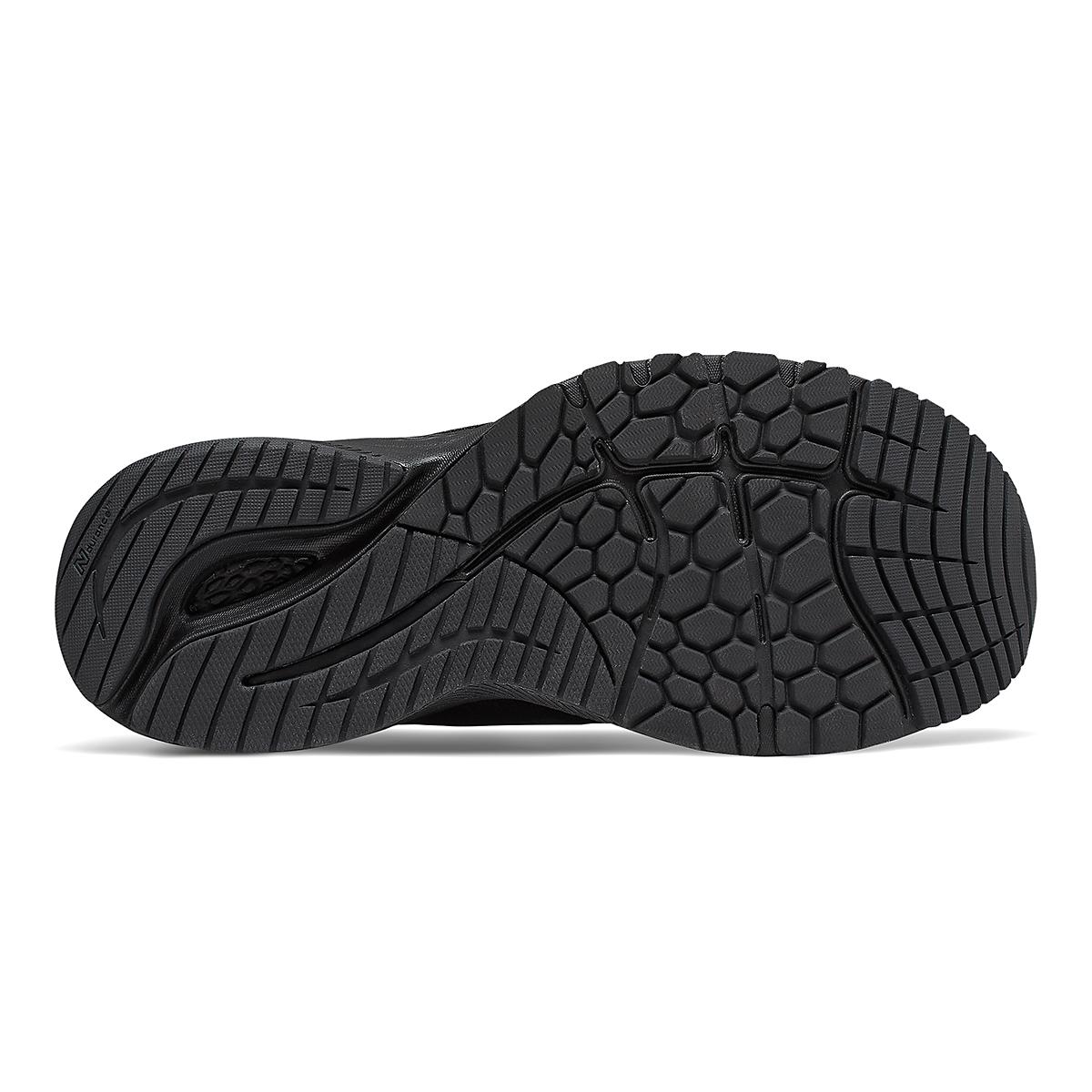 Women's New Balance 860V11 Running Shoe - Color: Black - Size: 6.5 - Width: Regular, Black, large, image 3