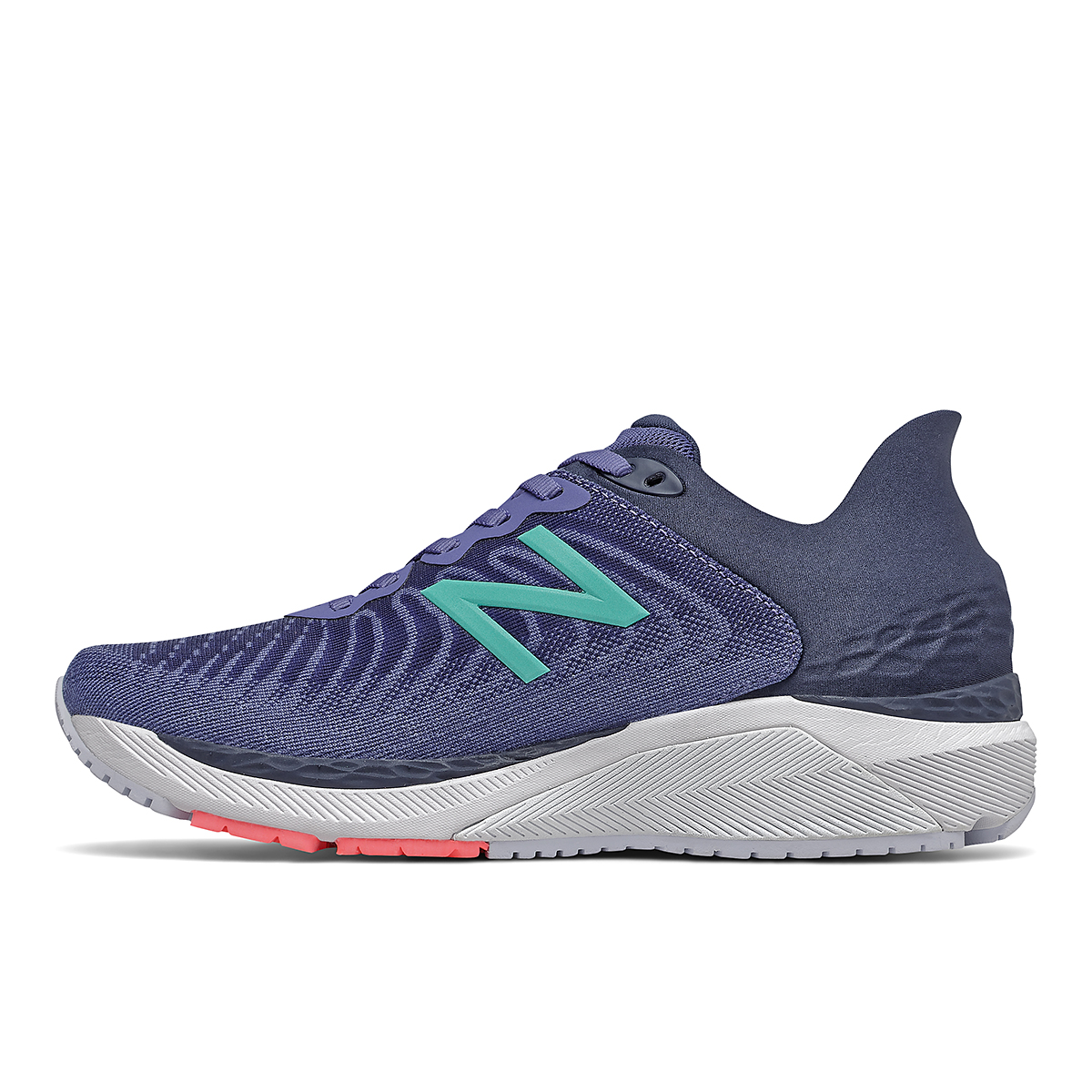 Women's New Balance 860V11 Running Shoe - Color: Magnetic Blue - Size: 5 - Width: Narrow, Magnetic Blue, large, image 2