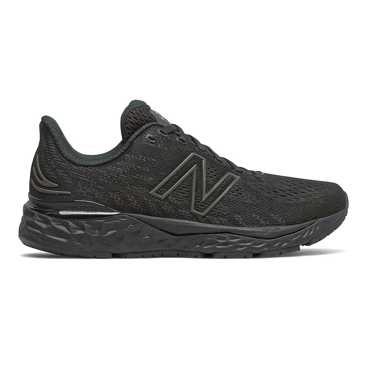 Women's New Balance 880V11 Running Shoe - Color: Black/Phantom - Size: 5 - Width: Narrow, Black/Phantom, large, image 1