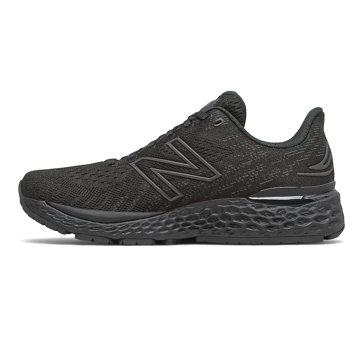 Women's New Balance 880V11 Running Shoe - Color: Black/Phantom - Size: 5 - Width: Narrow, Black/Phantom, large, image 2