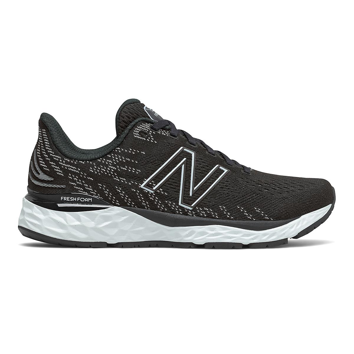 Women's New Balance 880V11 Running Shoe - Color: Black/Star Glo - Size: 5 - Width: Narrow, Black/Star Glo, large, image 1