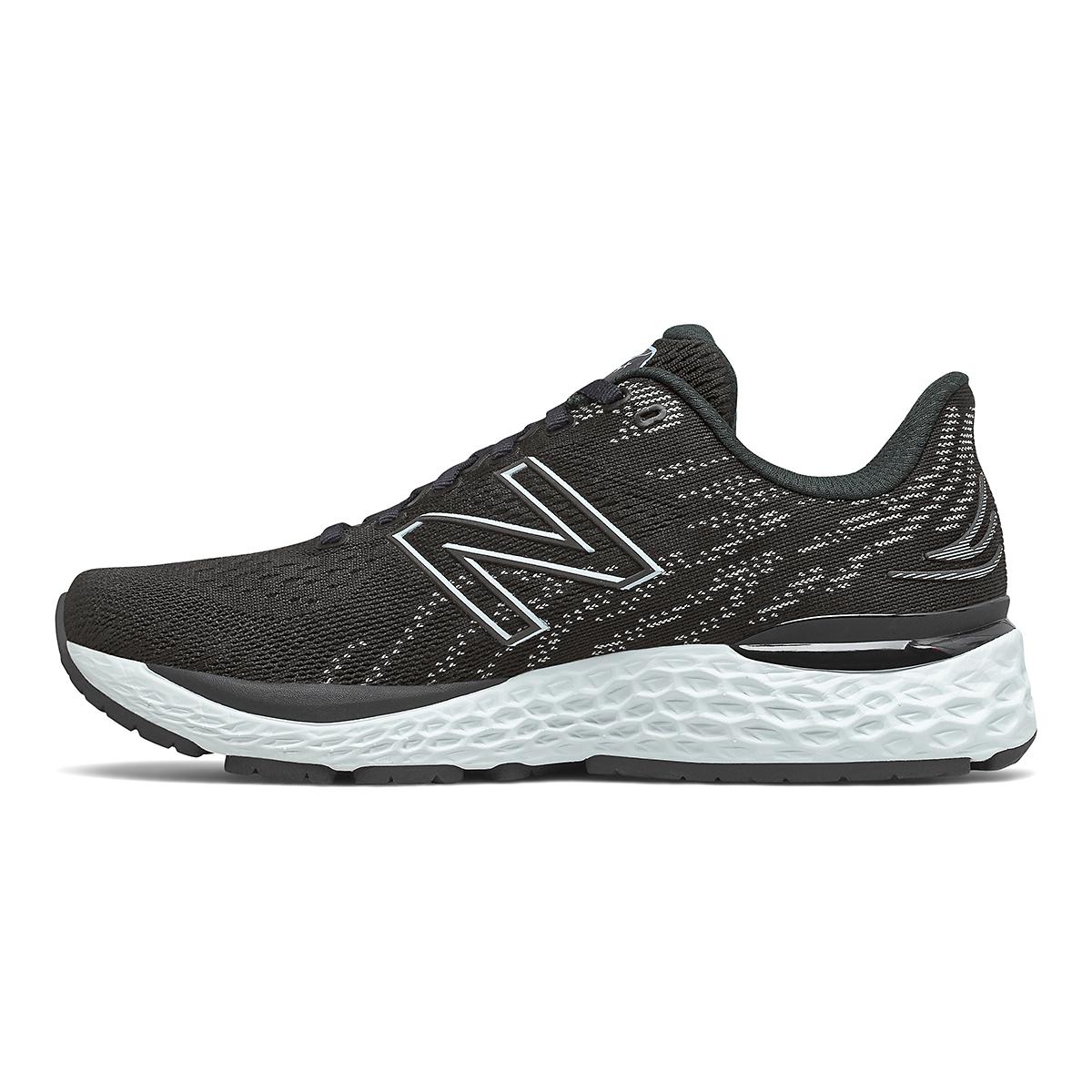 Women's New Balance 880V11 Running Shoe - Color: Black/Star Glo - Size: 5 - Width: Narrow, Black/Star Glo, large, image 2
