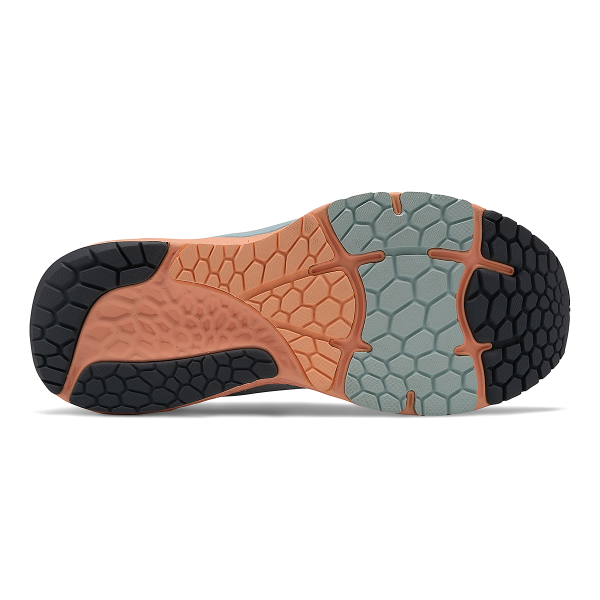 Women's New Balance 880V11 Running Shoe - Color: Pale Blue Chill/Light Mango - Size: 5 - Width: Narrow, Pale Blue Chill/Light Mango, large, image 5
