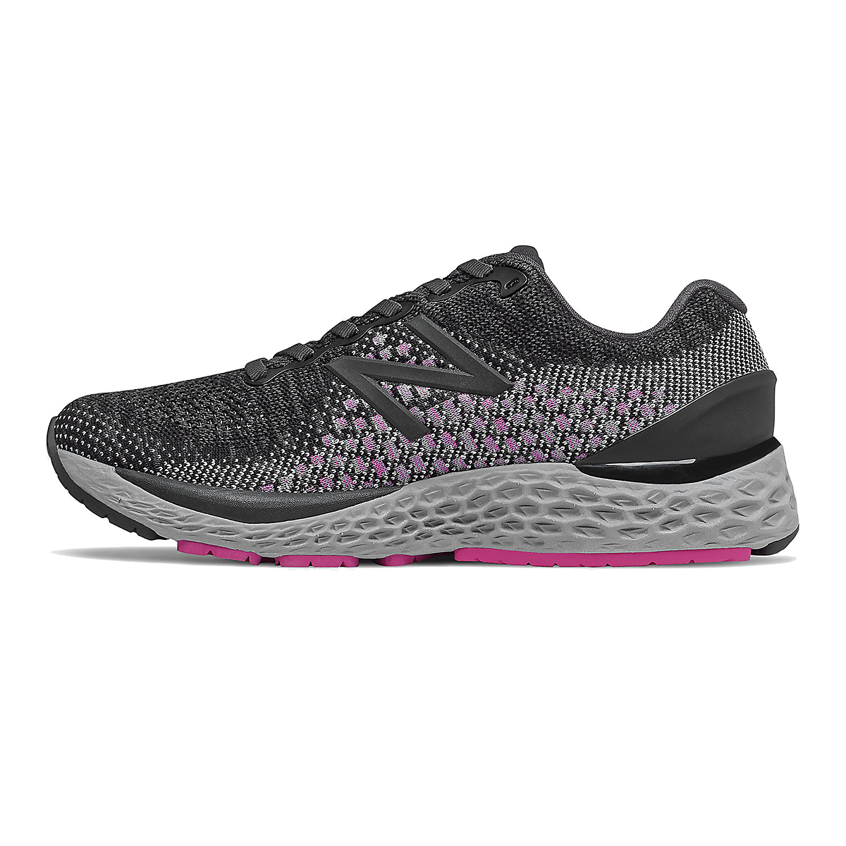 Women's New Balance Fresh Foam 880v10 Gore-Tex Running Shoes - Color: Black With Thunder - Size: 10 - Width: Regular, Black With Thunder, large, image 2