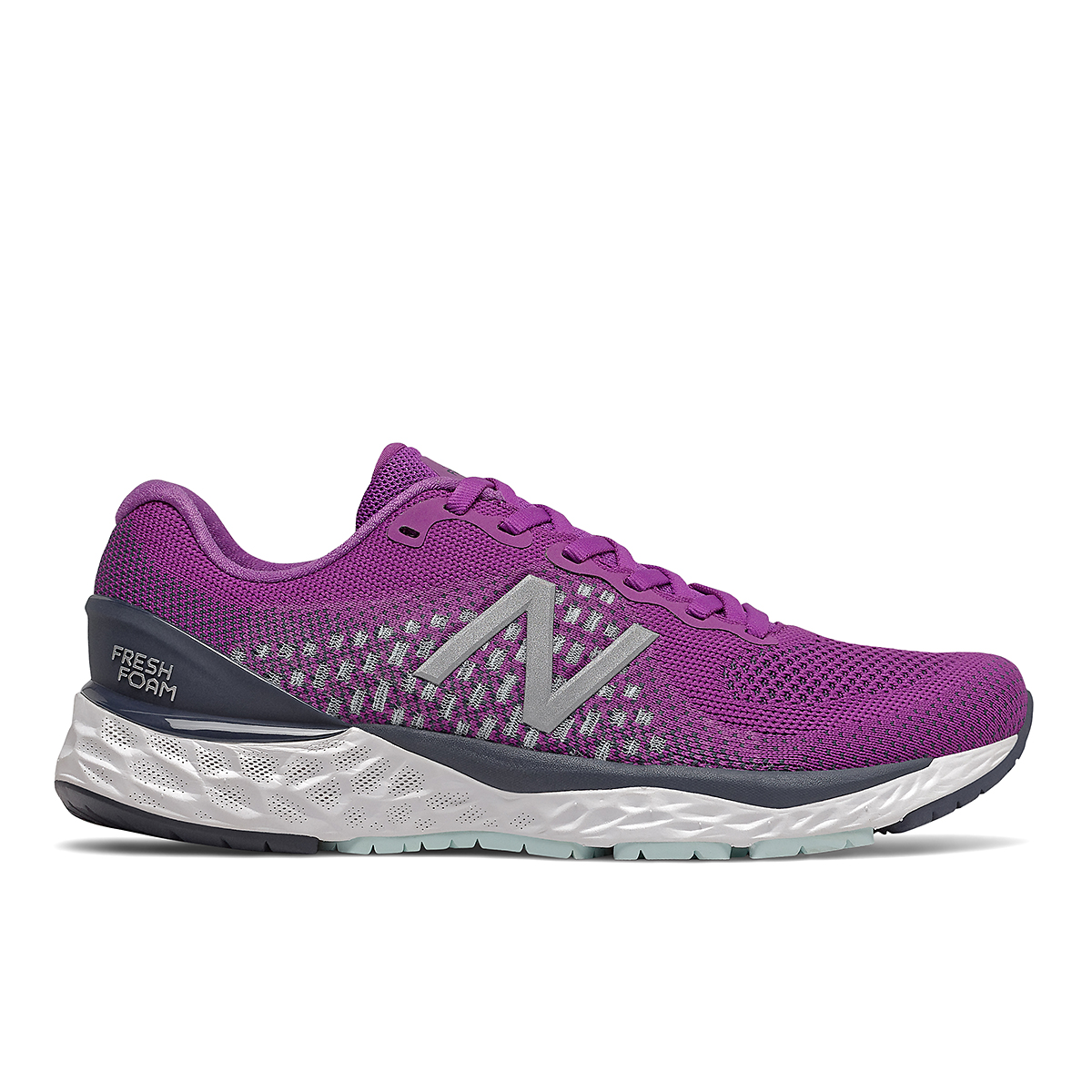 Women's New Balance 880V10 Running Shoe - Color: Plum - Size: 5 - Width: Narrow, Plum, large, image 1