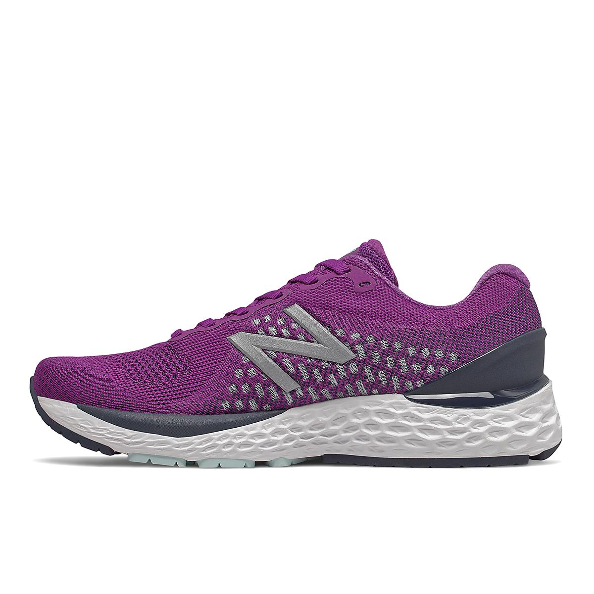 Women's New Balance 880V10 Running Shoe - Color: Plum - Size: 5 - Width: Narrow, Plum, large, image 2
