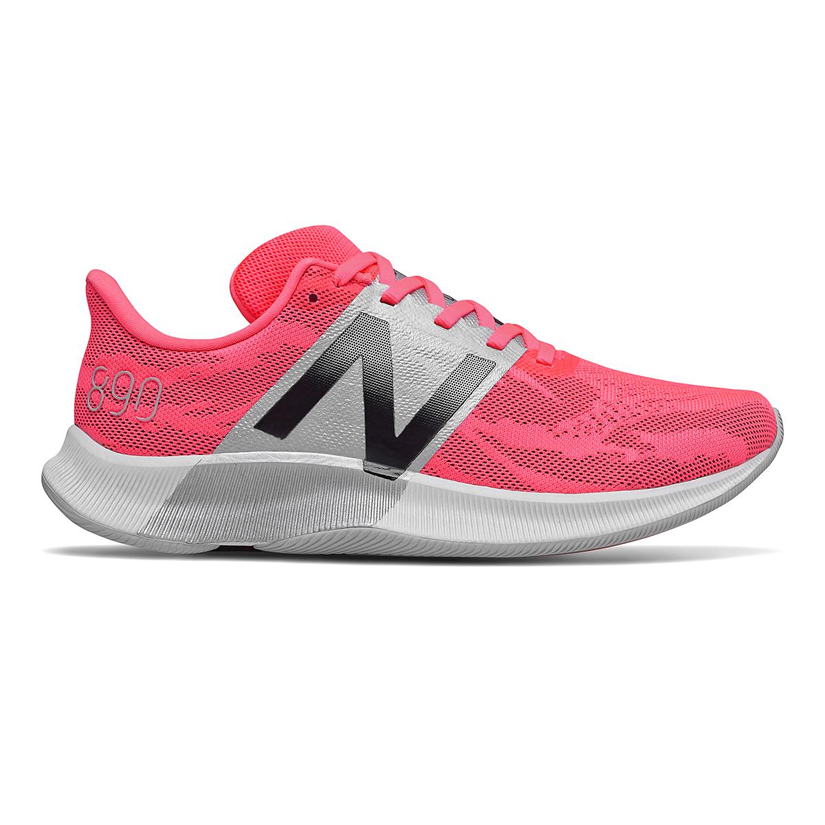 Women's New Balance 890V8 Running Shoe - Color: Guava - Size: 7 - Width: Regular, Guava, large, image 1