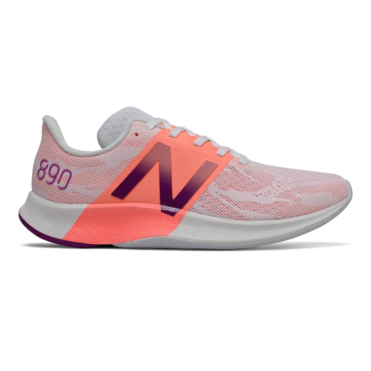 Women's New Balance 890V8 Running Shoe - Color: Moondust (Regular Width) - Size: 5, Moondust, large, image 1