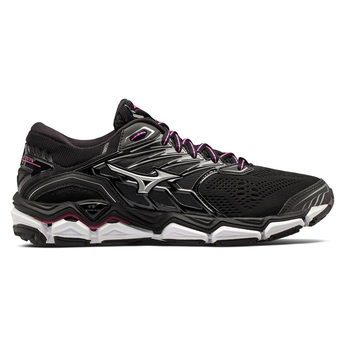 Women's Mizuno Wave Horizon 2 Running Shoe - Color: Black/Athena (Regular Width) - Size: 8, Black/Athena, large, image 1
