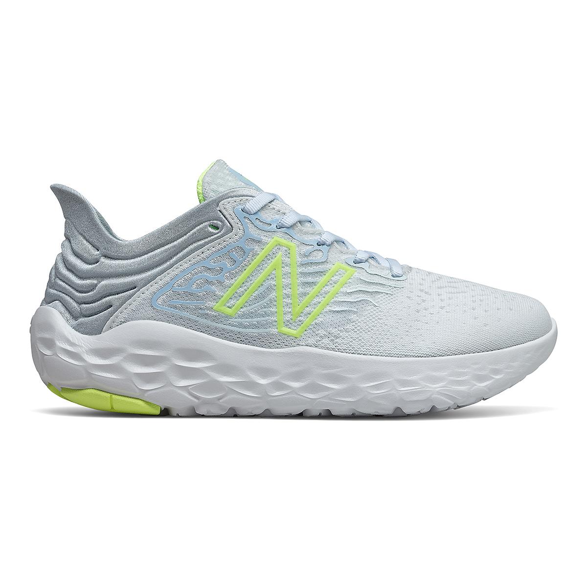 Women's New Balance Beacon V3 Running Shoe - Color: Star Glo/Bleacher Lime Glo - Size: 7 - Width: Regular, Star Glo/Bleacher Lime Glo, large, image 1