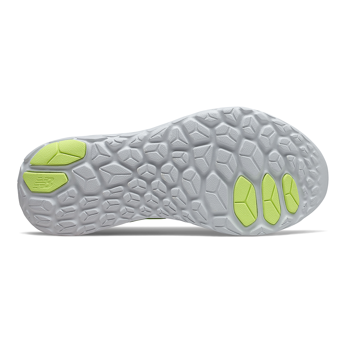 Women's New Balance Beacon V3 Running Shoe - Color: Star Glo/Bleacher Lime Glo - Size: 7 - Width: Regular, Star Glo/Bleacher Lime Glo, large, image 4