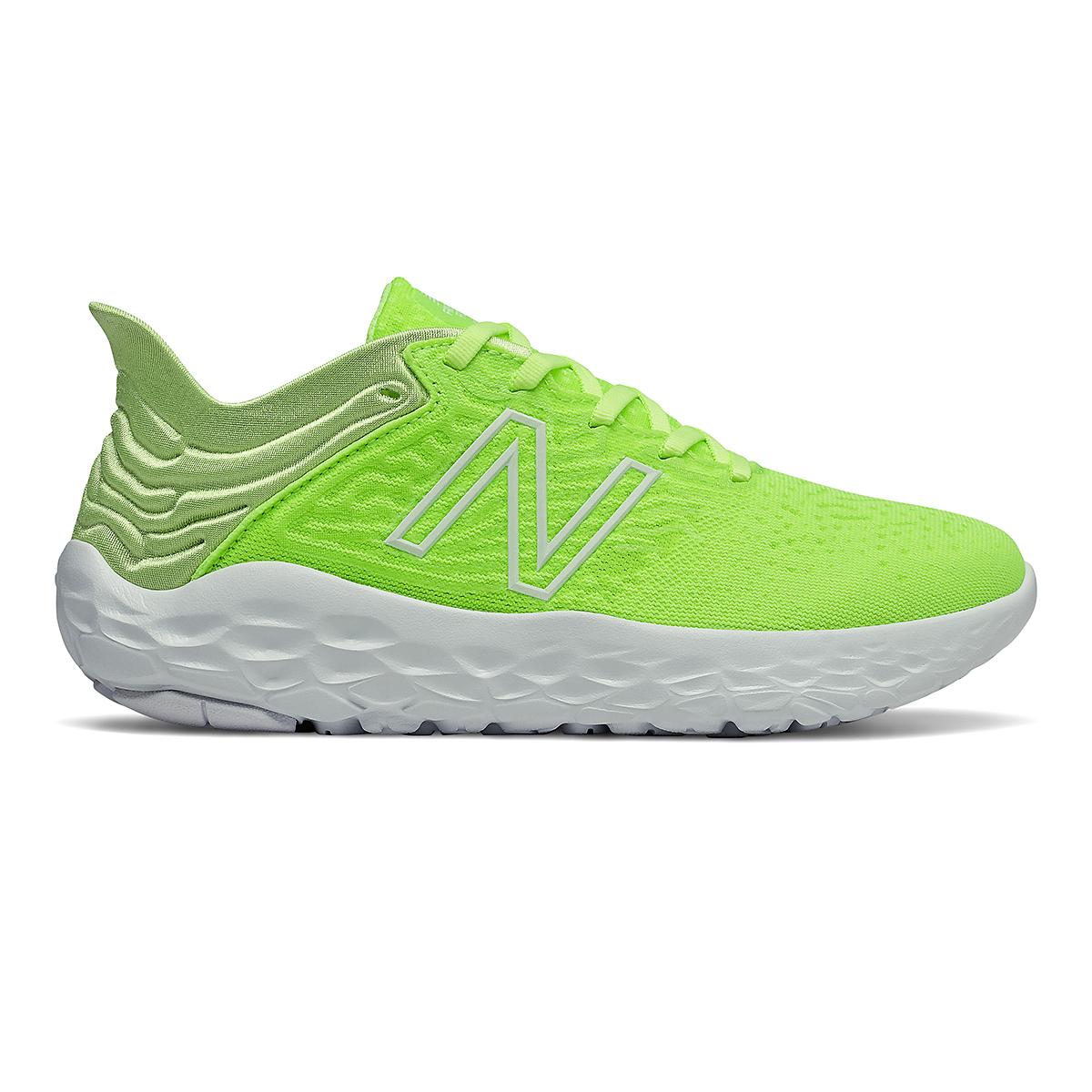 Women's New Balance Beacon V3 Running Shoe - Color: Lime Glo - Size: 6 - Width: Regular, Lime Glo, large, image 1