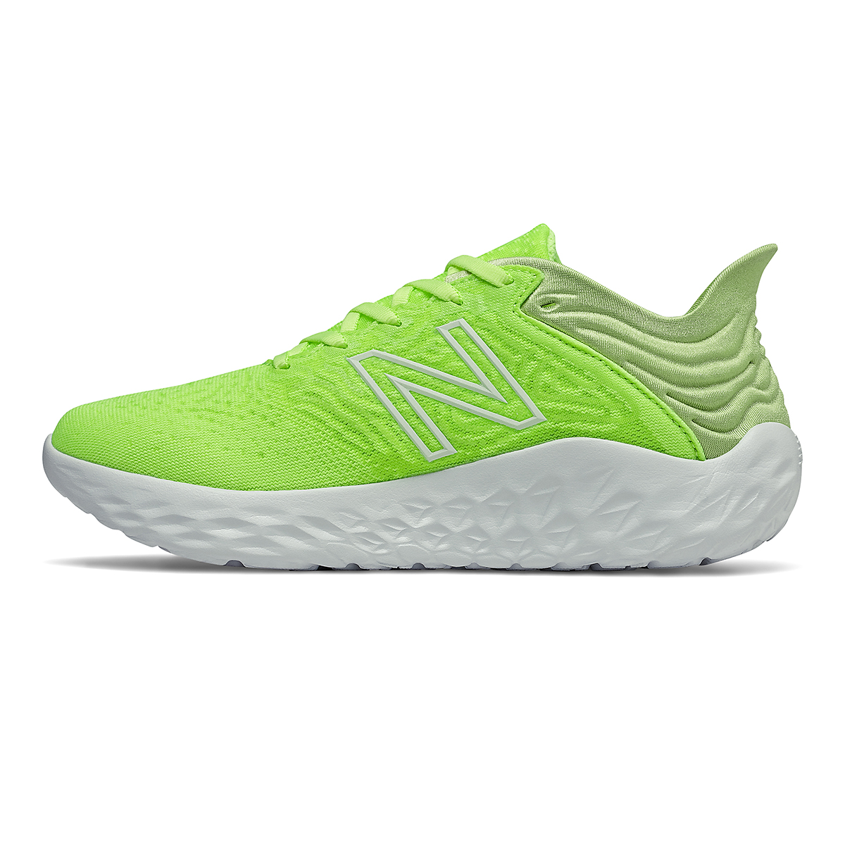 Women's New Balance Beacon V3 Running Shoe - Color: Lime Glo - Size: 6 - Width: Regular, Lime Glo, large, image 2