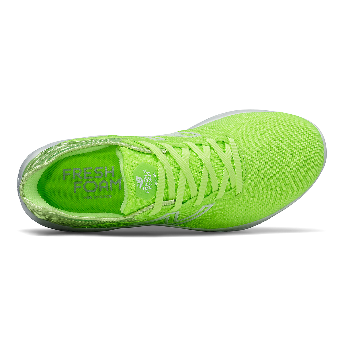 Women's New Balance Beacon V3 Running Shoe - Color: Lime Glo - Size: 6 - Width: Regular, Lime Glo, large, image 3