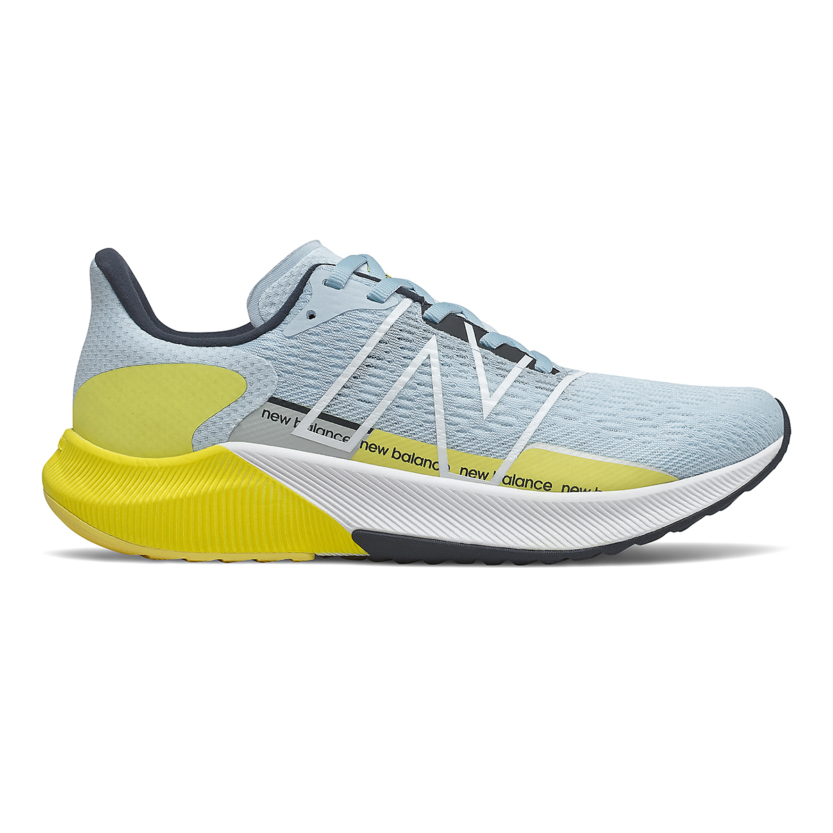 Women's New Balance Fuelcell Propel V2 Running Shoe - Color: Uv Glo/First Light/Eclipse - Size: 5 - Width: Regular, Uv Glo/First Light/Eclipse, large, image 1