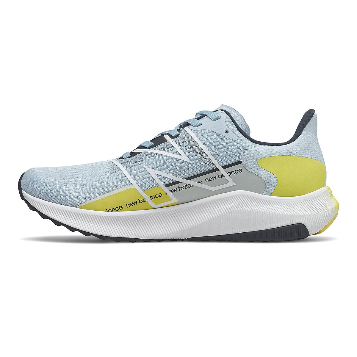 Women's New Balance Fuelcell Propel V2 Running Shoe - Color: Uv Glo/First Light/Eclipse - Size: 5 - Width: Regular, Uv Glo/First Light/Eclipse, large, image 2
