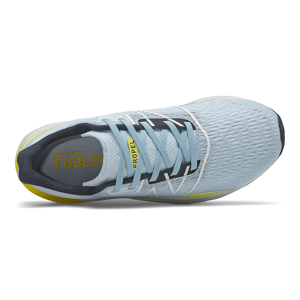 Women's New Balance Fuelcell Propel V2 Running Shoe - Color: Uv Glo/First Light/Eclipse - Size: 5 - Width: Regular, Uv Glo/First Light/Eclipse, large, image 3