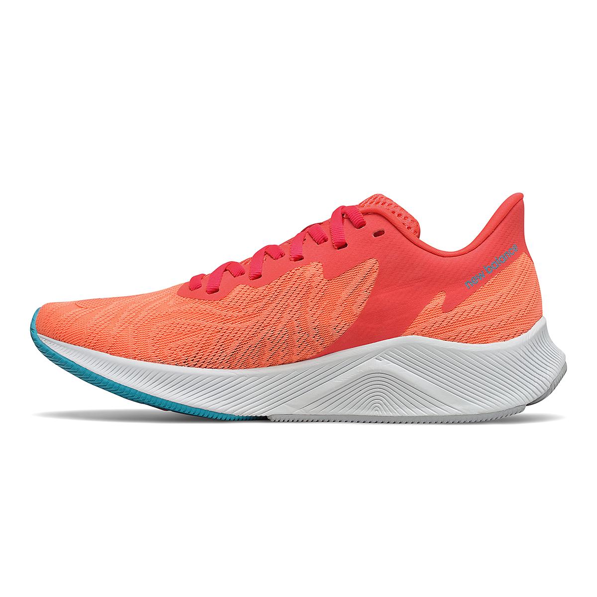 Women's New Balance Fuelcell Prism Running Shoe - Color: Vivid Coral/Citrus - Size: 5 - Width: Regular, Vivid Coral/Citrus, large, image 2