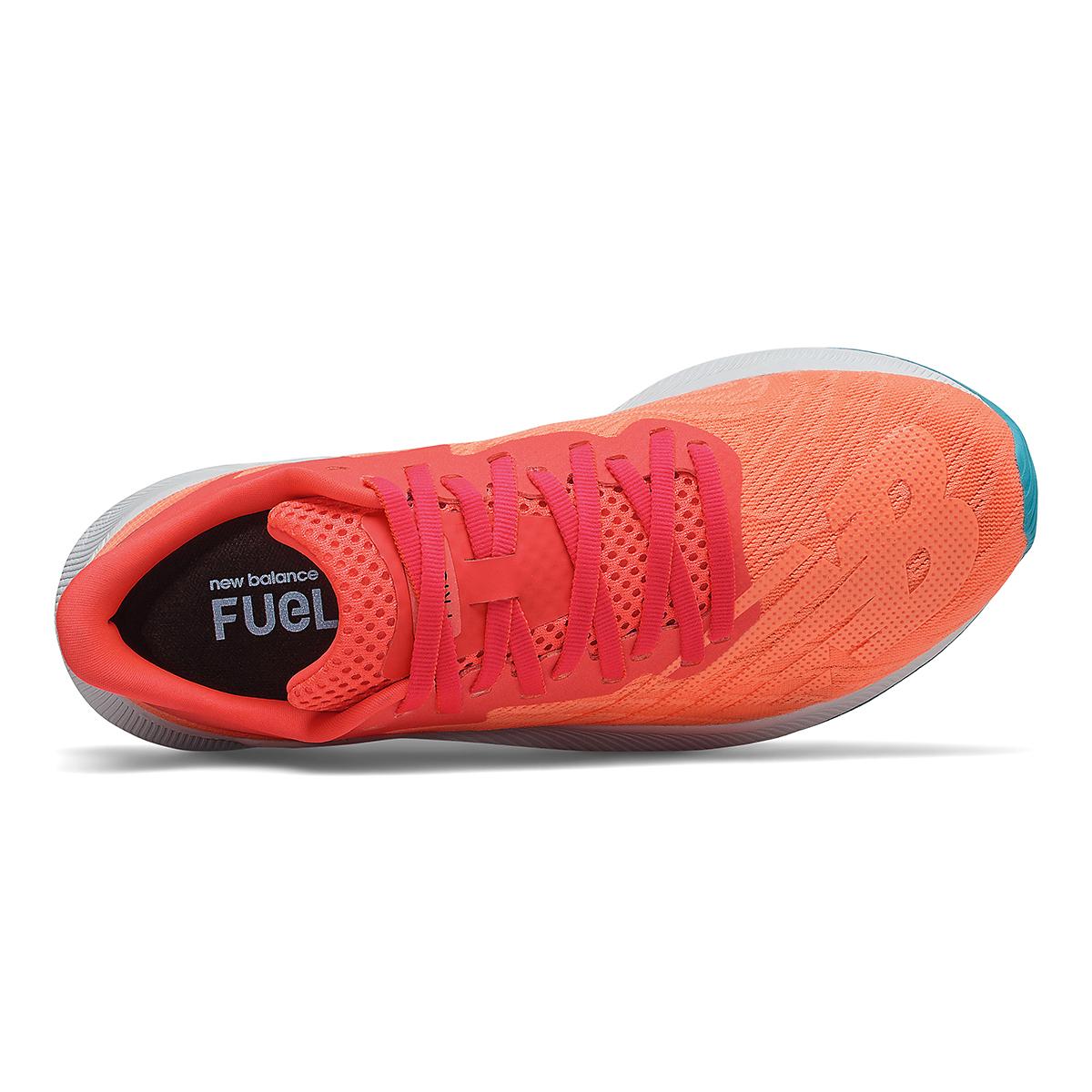 Women's New Balance Fuelcell Prism Running Shoe - Color: Vivid Coral/Citrus - Size: 5 - Width: Regular, Vivid Coral/Citrus, large, image 3