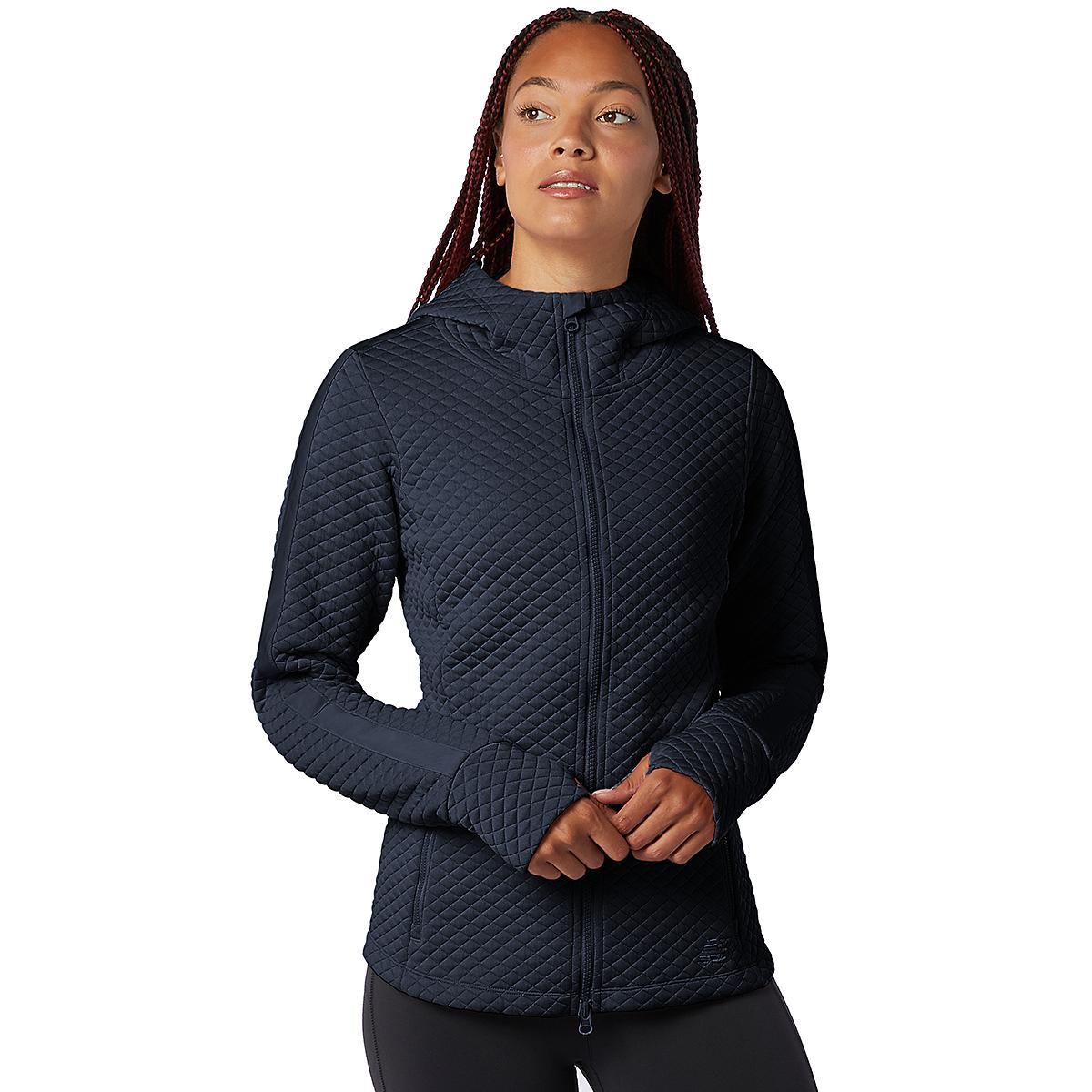 Women's New Balance Heatloft Jacket - Color: Eclipse Heather - Size: XS, Eclipse Heather, large, image 1