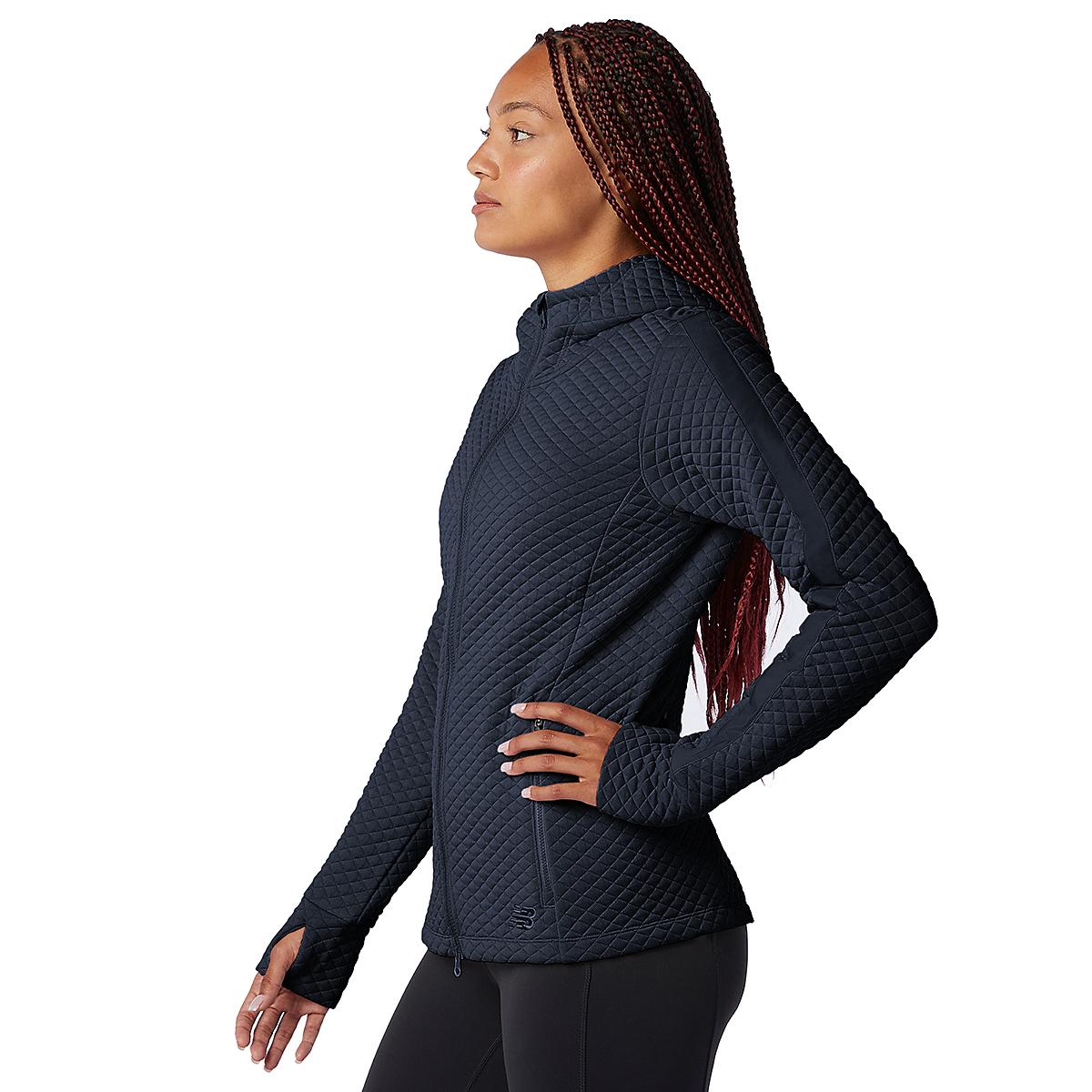 Women's New Balance Heatloft Jacket - Color: Eclipse Heather - Size: XS, Eclipse Heather, large, image 3