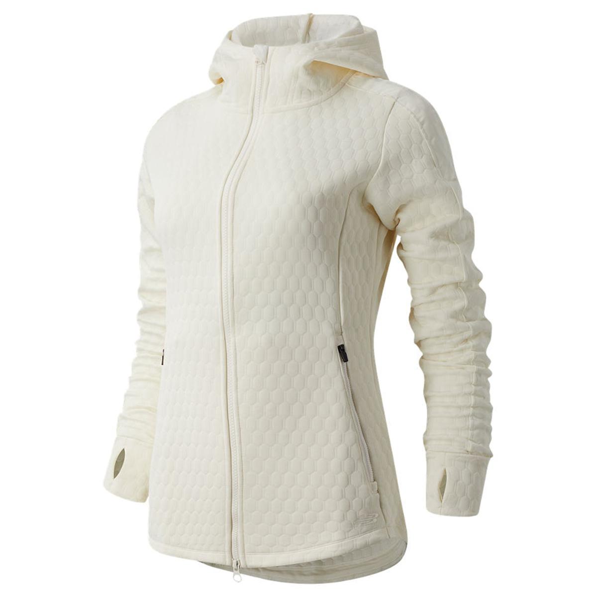 Women's New Balance HeatLoft Jacket - Color: Sea Salt Heather - Size: L, Sea Salt Heather, large, image 1