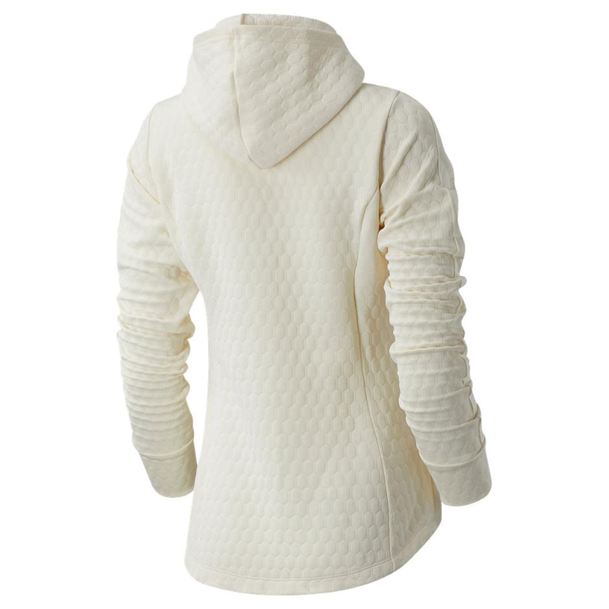 Women's New Balance HeatLoft Jacket - Color: Sea Salt Heather - Size: L, Sea Salt Heather, large, image 2