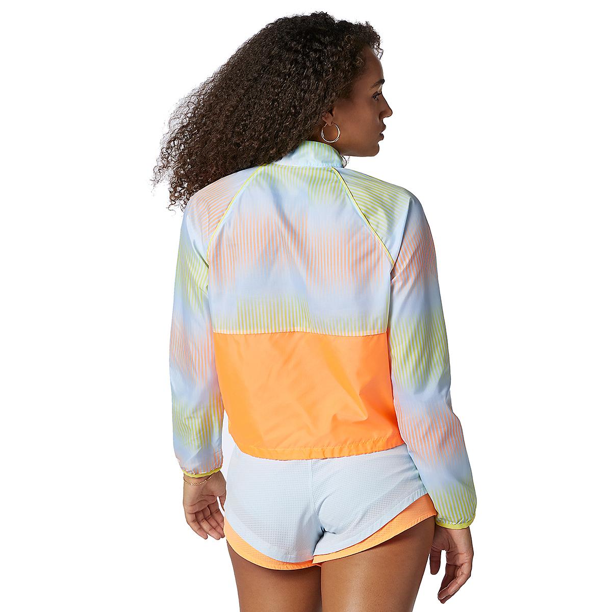Women's New Balance Fast Flight Jacket - Color: Citrus Punch - Size: XS, Citrus Punch, large, image 3