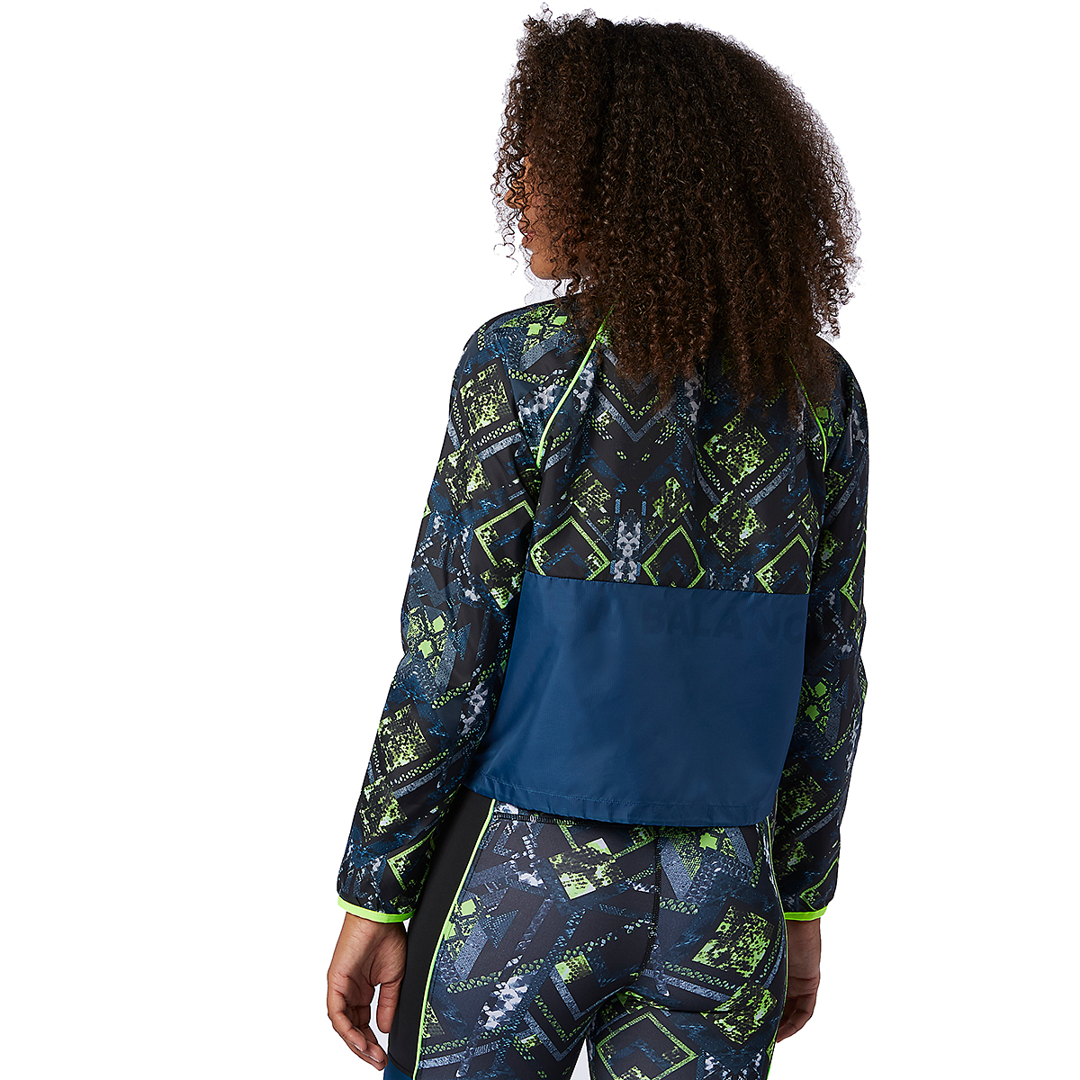 Women's New Balance Printed Fast Flight Jacket - Color: Print - Size: XS, Print, large, image 3