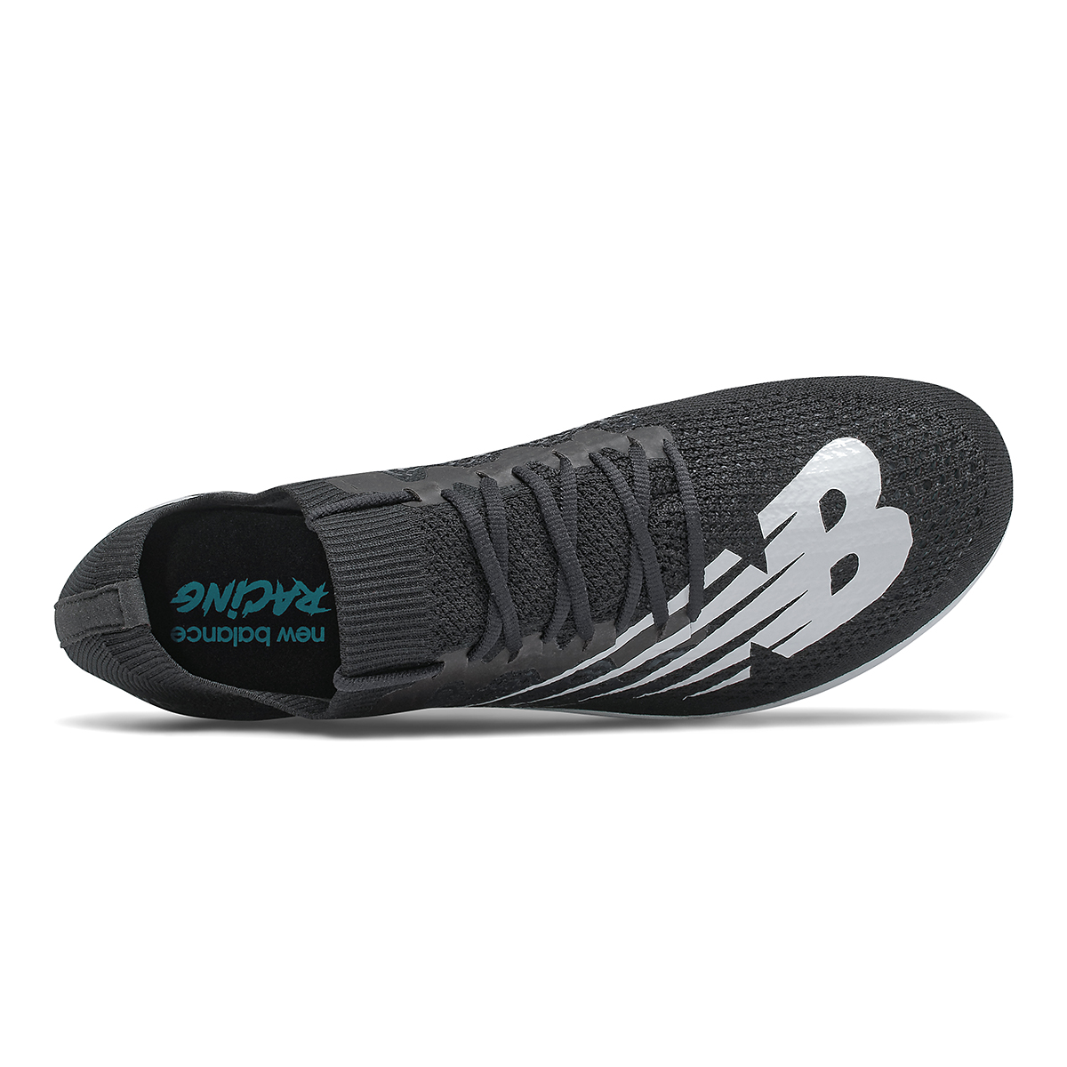 Women's New Balance LD5Kv8 Track Spikes - Color: Black/White - Size: 6 - Width: Regular, Black/White, large, image 3